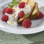 Rasspberry Cream Grill Cake