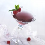 Cran Raspberry Martini